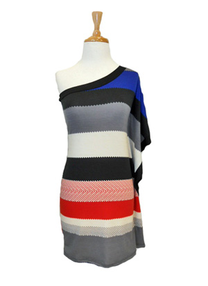 Striped Sweater Dress - The Fuss Boutique